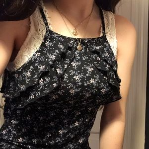 💐floral american eagle outfitters tank top💐